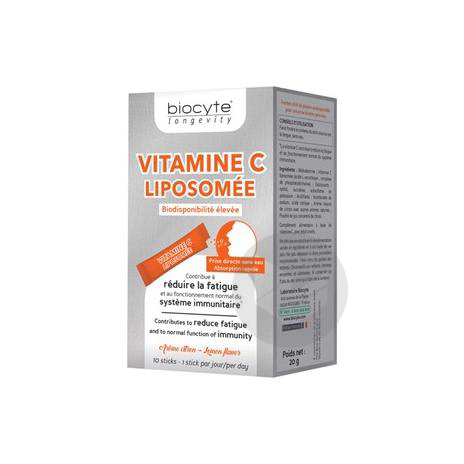 Vitamine C Liposomee Pdr 10 Sticks
