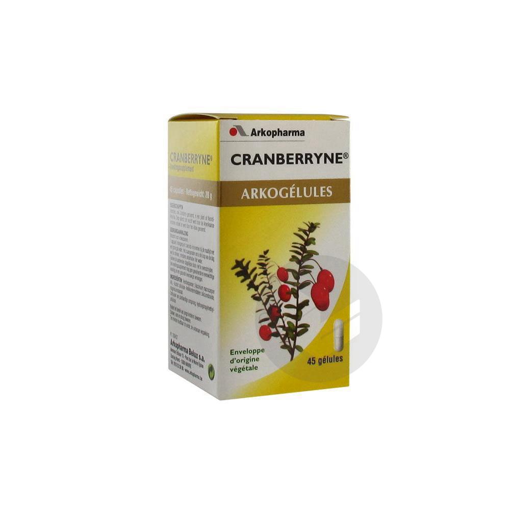 Arkogelules Cranberryne Gel Fl 45