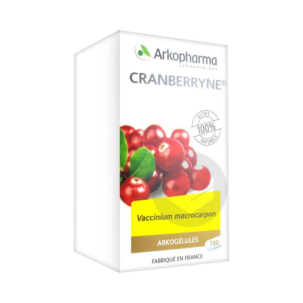Arkogelules Cranberryne Gel Fl 150