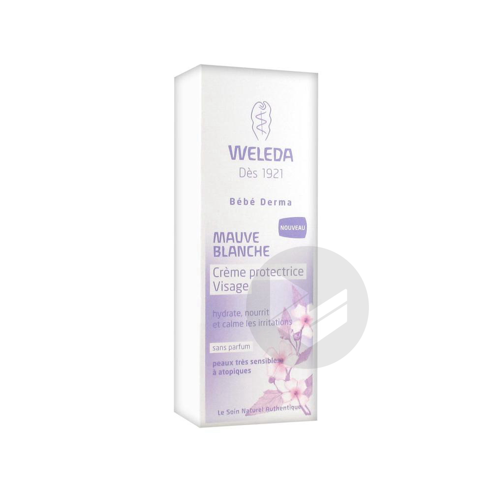 Soins Bebe Cr Protectrice Visage Mauve Blanche T 50 Ml