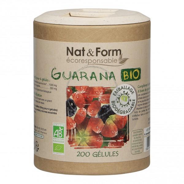 Guarana Bio Eco Responsable 250 Mg 200 Gelules