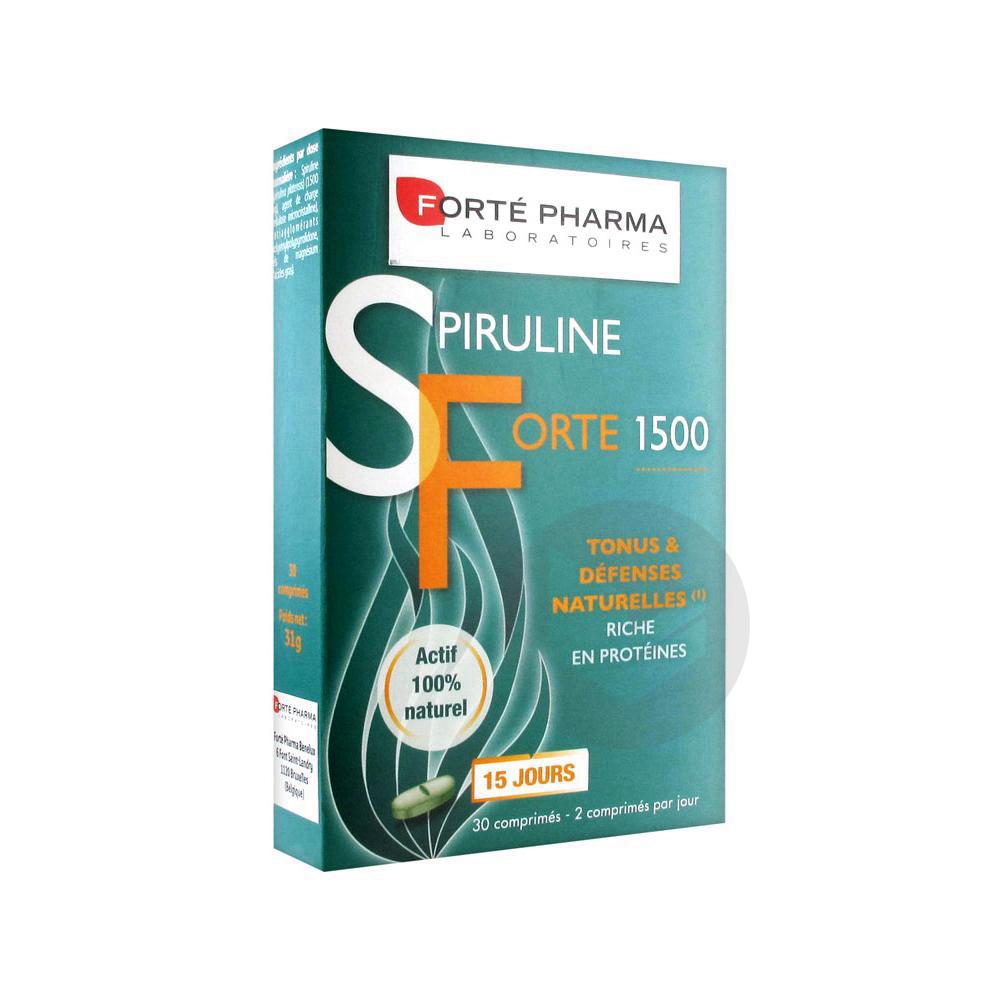 FORTE PHARMA Spiruline forte 1500 Cpr B/30