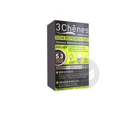 Soin Repigmentant Chevaux Naturels Ou Colores 5 3 Chatain Clair Dore