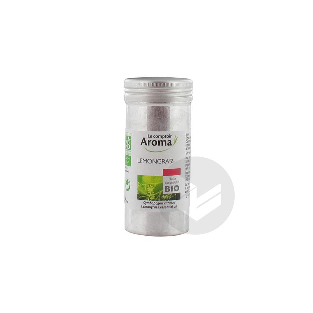 LE COMPTOIR AROMA Huile essentielle Lemongrass Bio Fl/10ml
