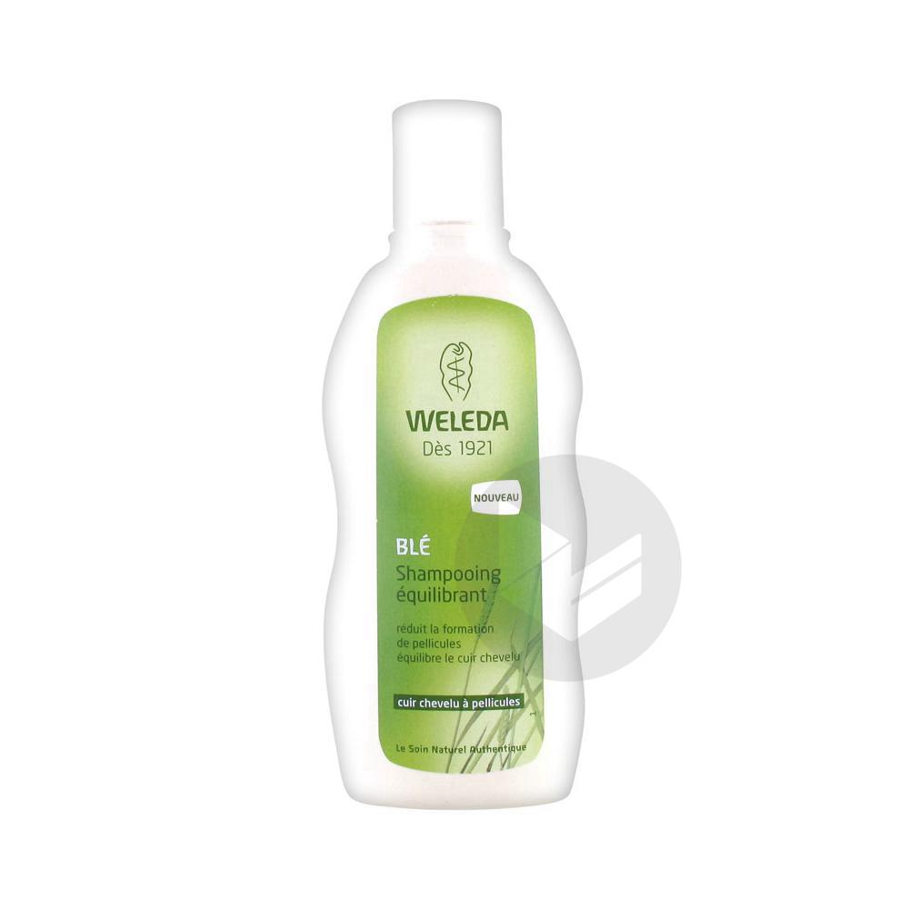 WELEDA SOINS CAPILLAIRES Shampooing équilibrant Blé Fl/190ml
