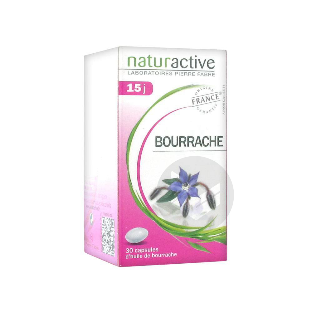Phytotherapie Huile De Bourrache Caps Pilulier 30