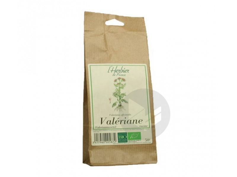 Valériane Racine Bio - Sachet 50 g