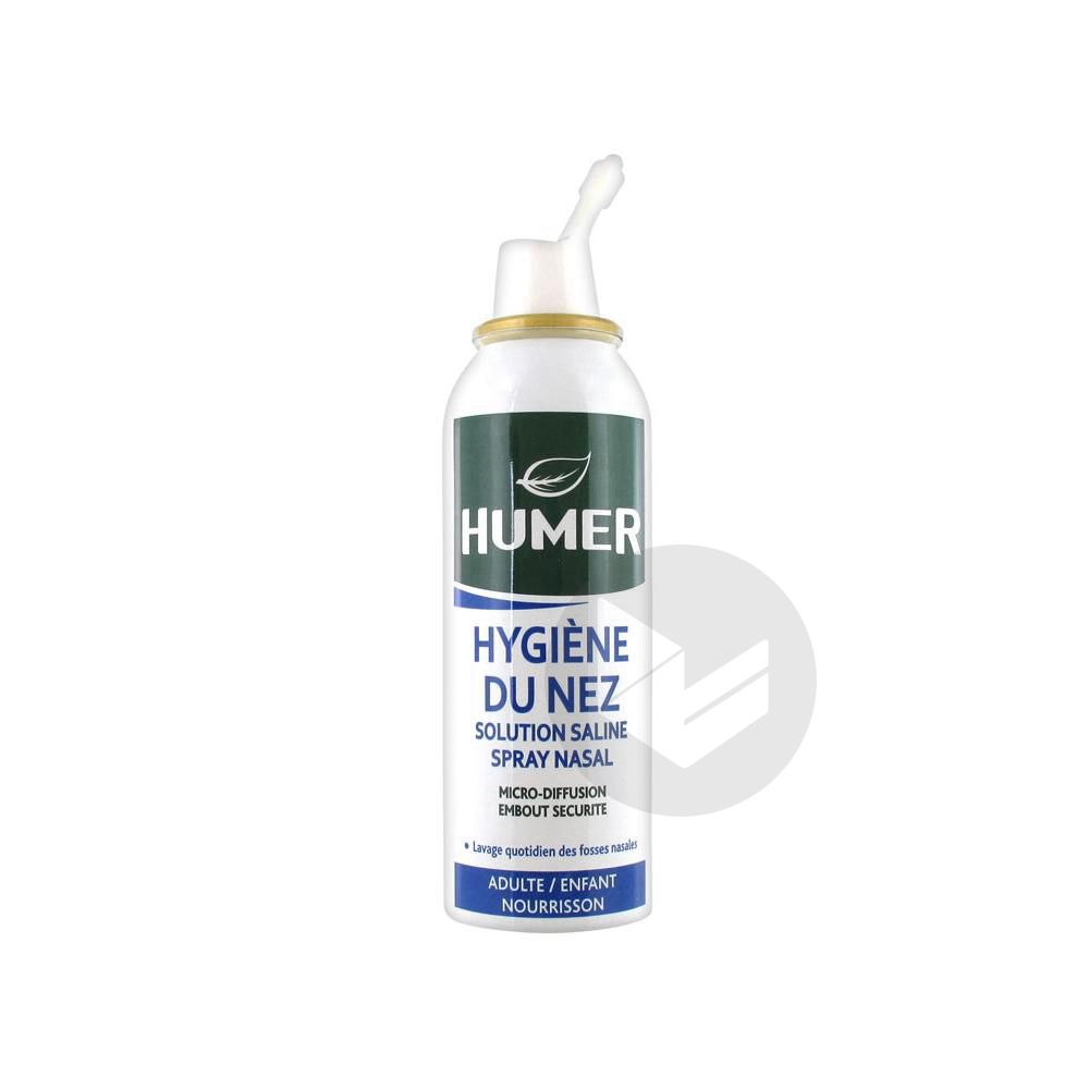 Humer S Nas Sterile Eau De Mer Adulte Enfant Spray 150 Ml