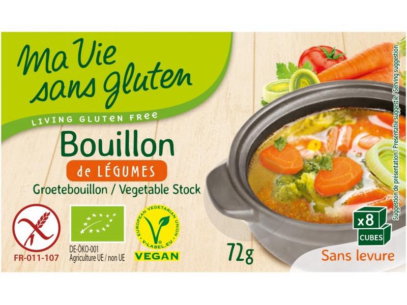 Bouillon De Legumes Bio 72 G