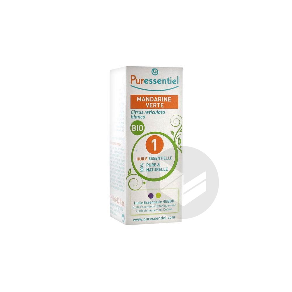 Expert Huile Essentielle Bio Mandarine Fl 10 Ml
