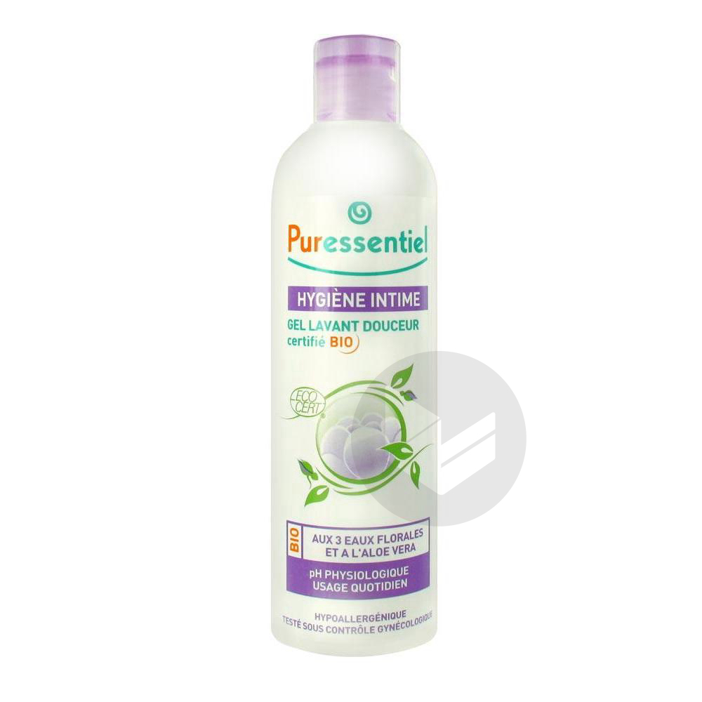 PURESSENTIEL HYGIENE & BEAUTE Gel hygiène intime lavant douceur bio Fl/250ml