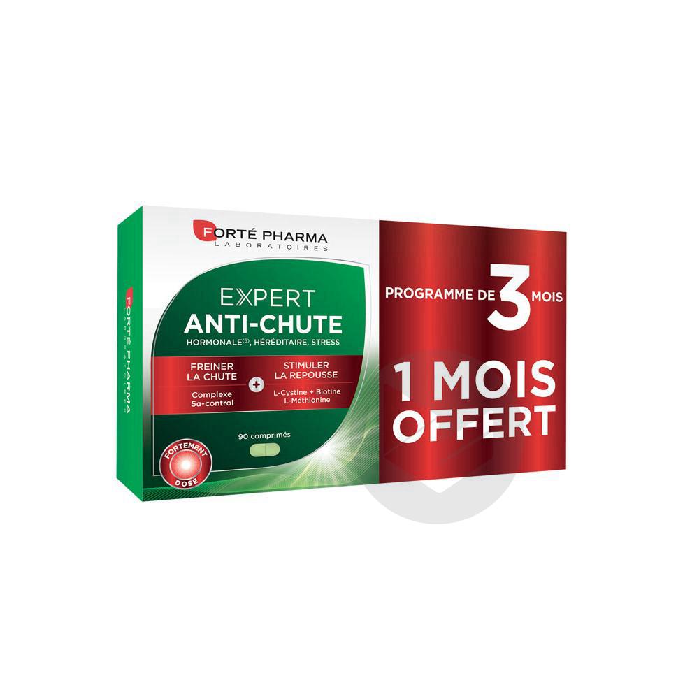 Forte Pharma Expert Anti Chute 90 Comprimes Dont 1 Mois Offert