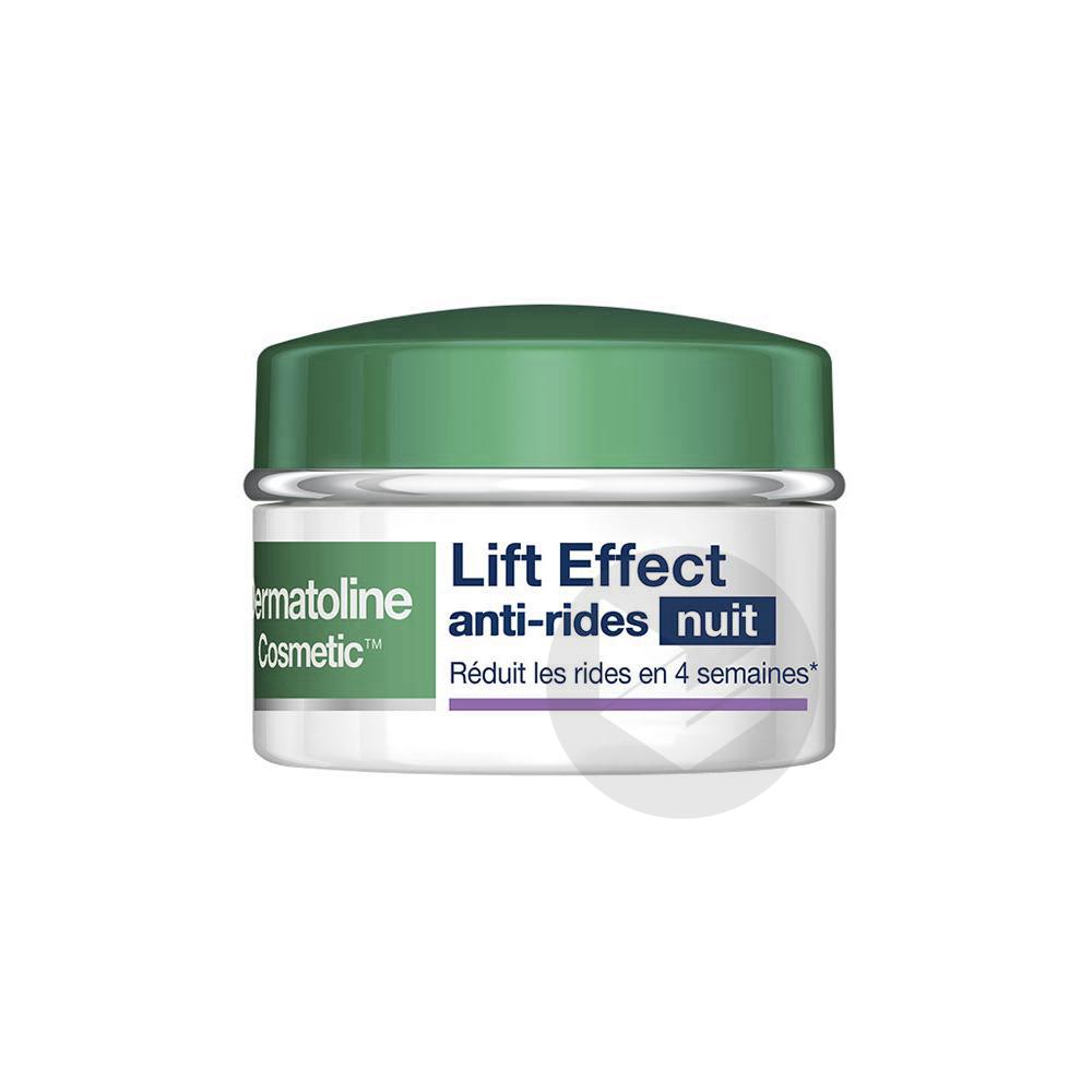 DERMATOLINE COSMETIC LIFT EFFECT Cr anti-rides nuit Pot/50ml