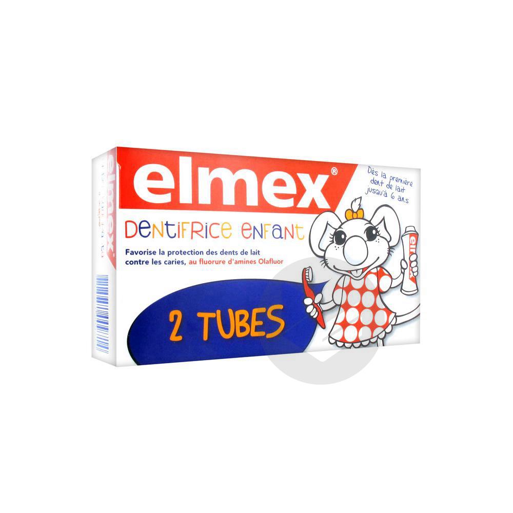 ELMEX ENFANT Pâte dentifrice dent de lait 2T/50ml