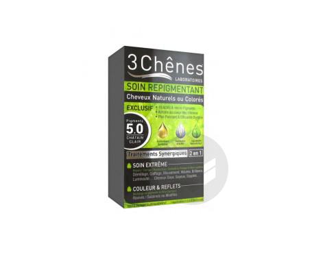 Soin Repigmentant Cheveux Naturels Ou Colores 5 0 Chatain Clair