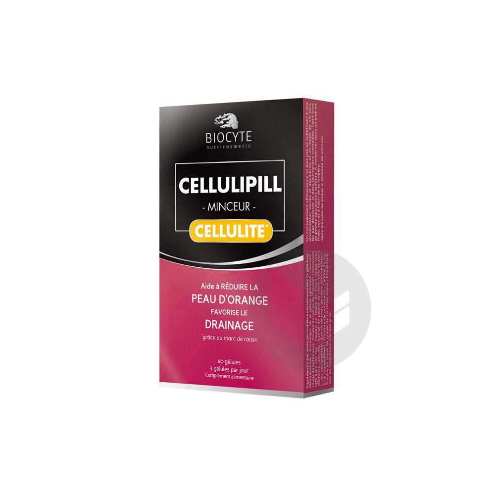 Biocyte Cellulipill Minceur Cellulite 60 Gélules