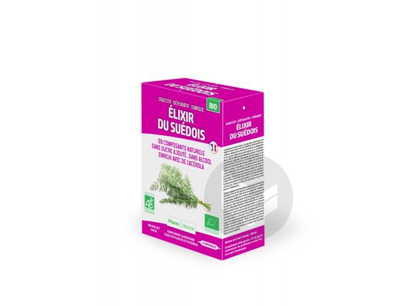 Elixir Suédois Bio - 10 ampoules