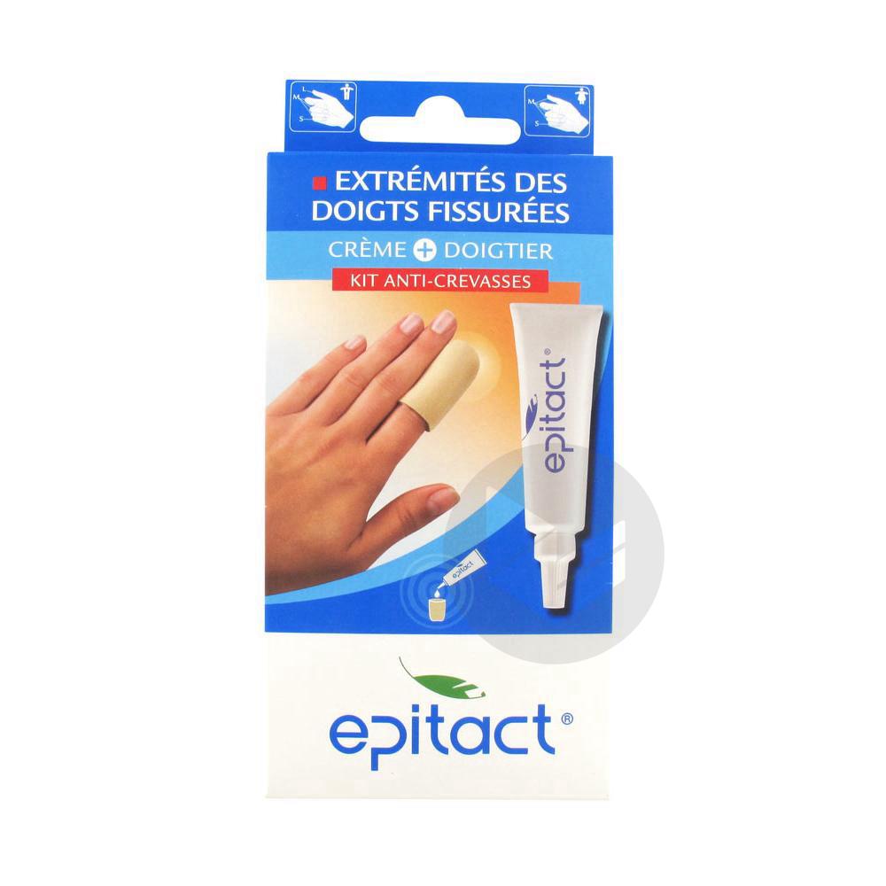 EPITACT Kit anti-crevasses mains 1Doigtier S+1T/10ml