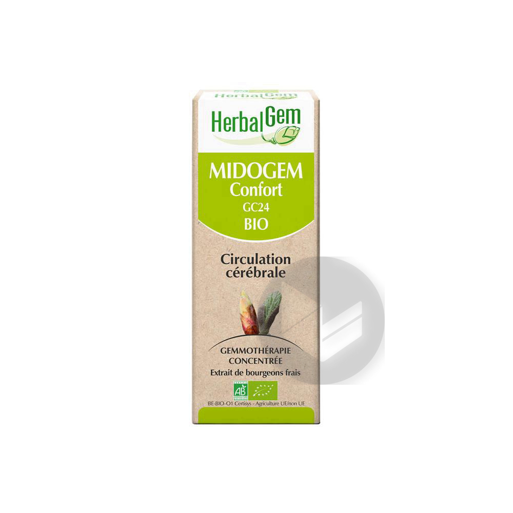 Herbal Gem Bio Midogem Confort 30 Ml
