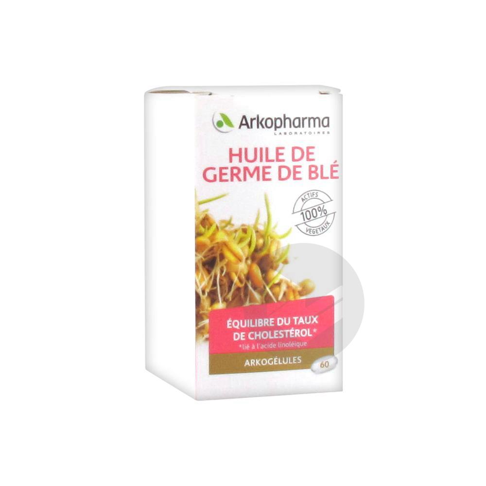 ARKOGELULES Huile de germe de blé Caps Fl/60