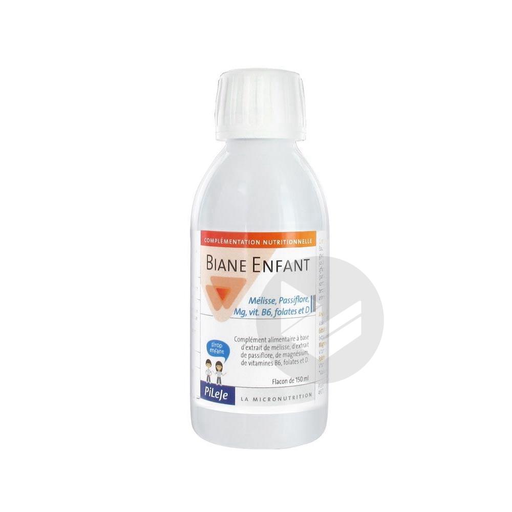BIANE ENFANT Mélisse Passiflore Mg Vit B6 D S buv Fl/150ml