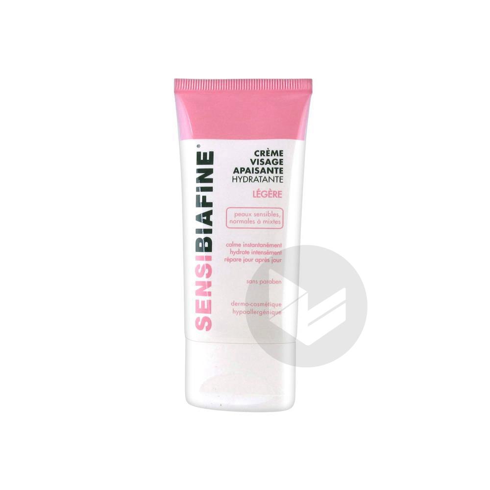 SENSIBIAFINE Cr visage hydratante apaisante légère T/50ml