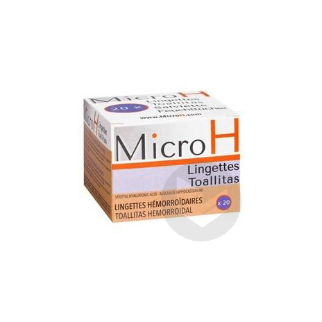 Micro H Lingette 20 Sach