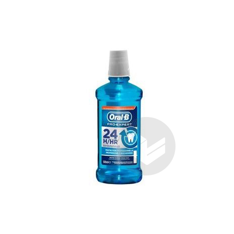 Oral B Pro Expert Bain Bouche Protection Professionnelle Fl 500 Ml
