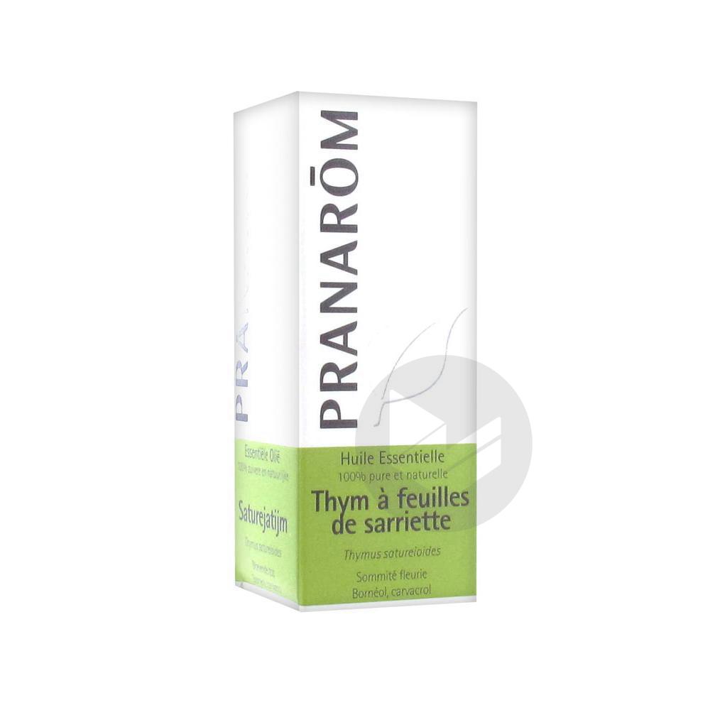 PRANAROM Huile essentielle Thym à feuilles de Sarriette Fl/10ml