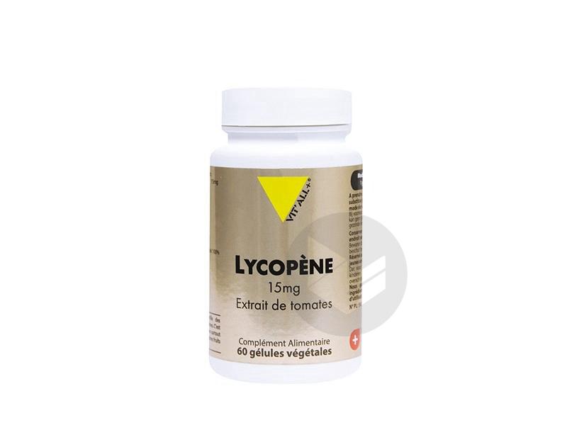 Lycopène 15 mg - 60 gélules