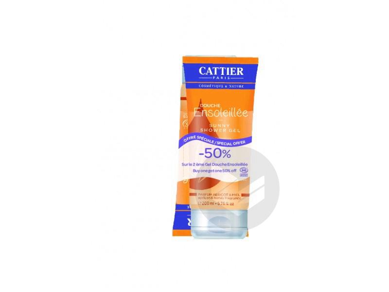 Cattier Douche Rayonnante Lot de 2 x 200 ml