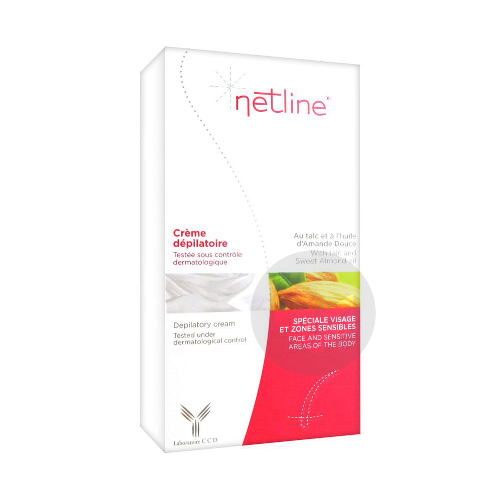 Cr Depilatoire Visage Zones Sensibles T 75 Ml