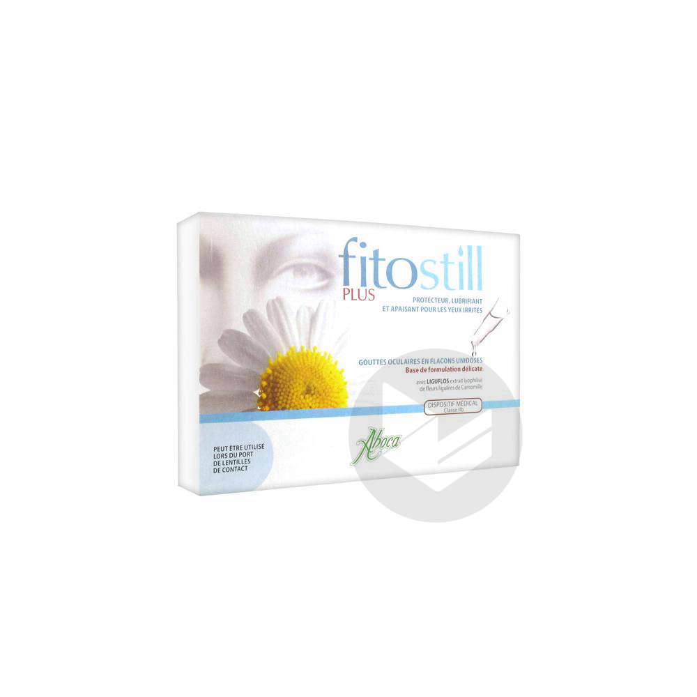 Fitostill Plus 10 Flacons Unidoses