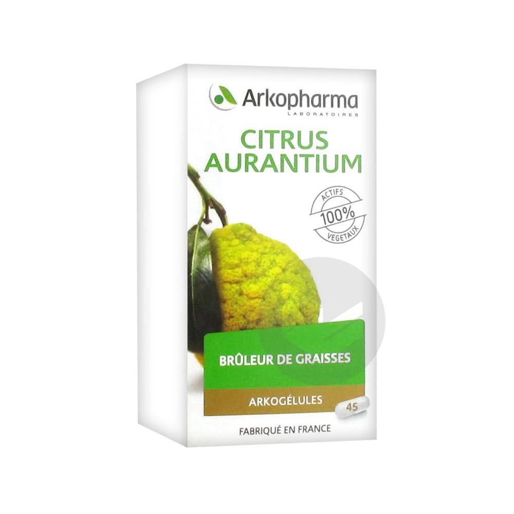 Arkogelules Citrus Aurantium Gel Fl 45