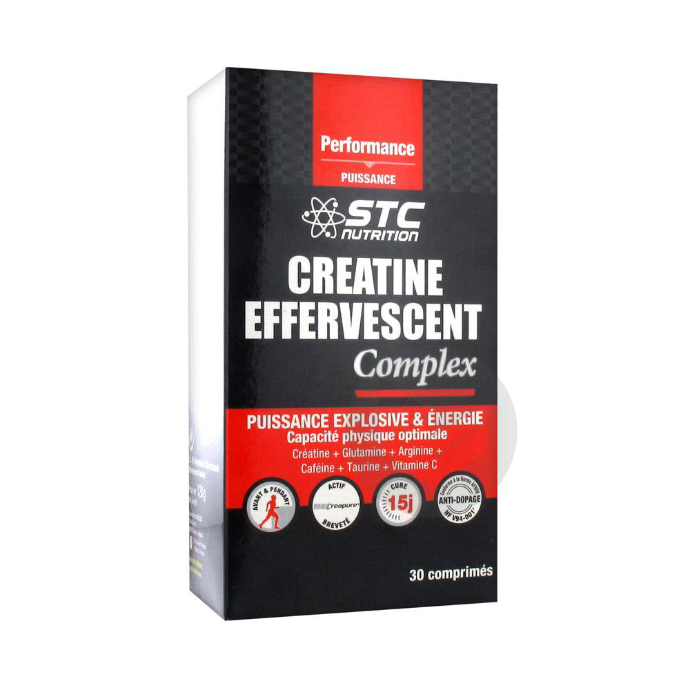 Creatine Effervescent Complex 2 X 15 Comprimes