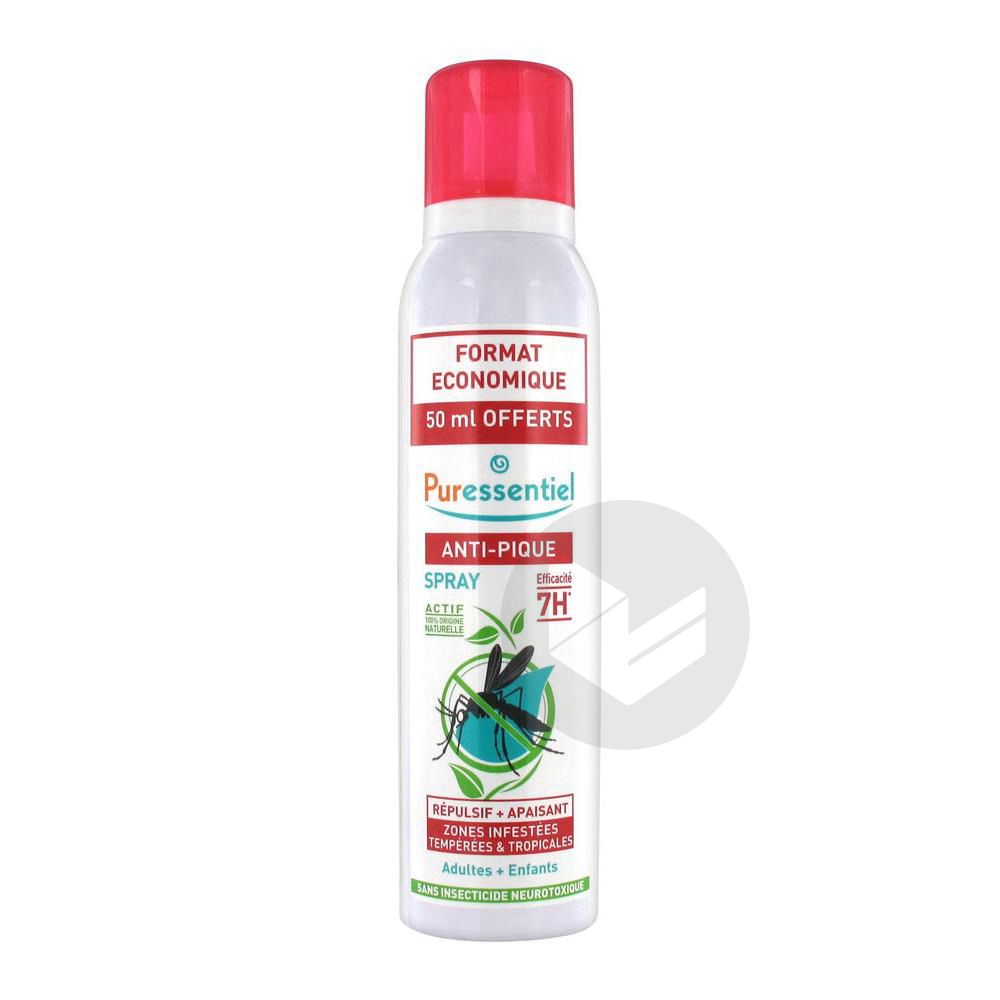 Anti Pique Spray 5 Huiles Essentielles Citriodiol Fl 200 Ml