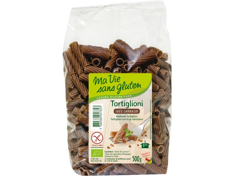 Tortiglioni 100 % sarrasin Bio - 500 g