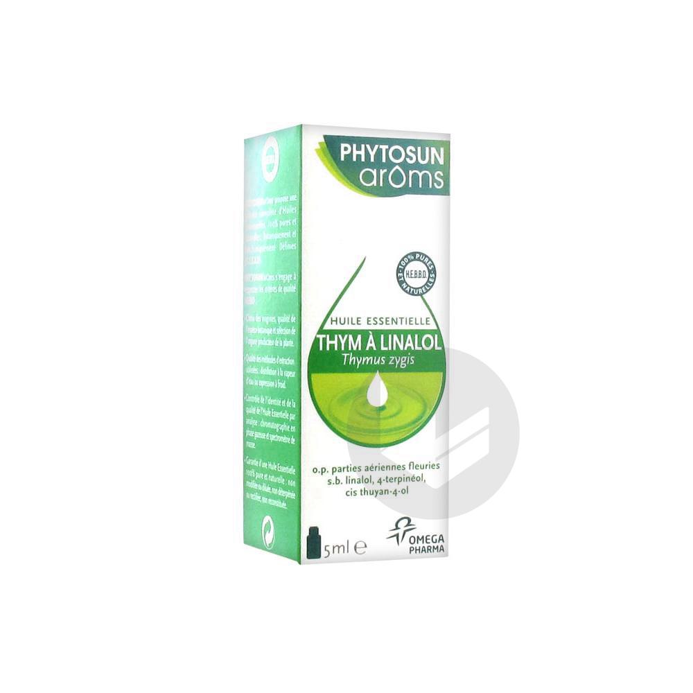 Phytosun Aroms Huile Essentielle Thym A Linalol Fl 5 Ml