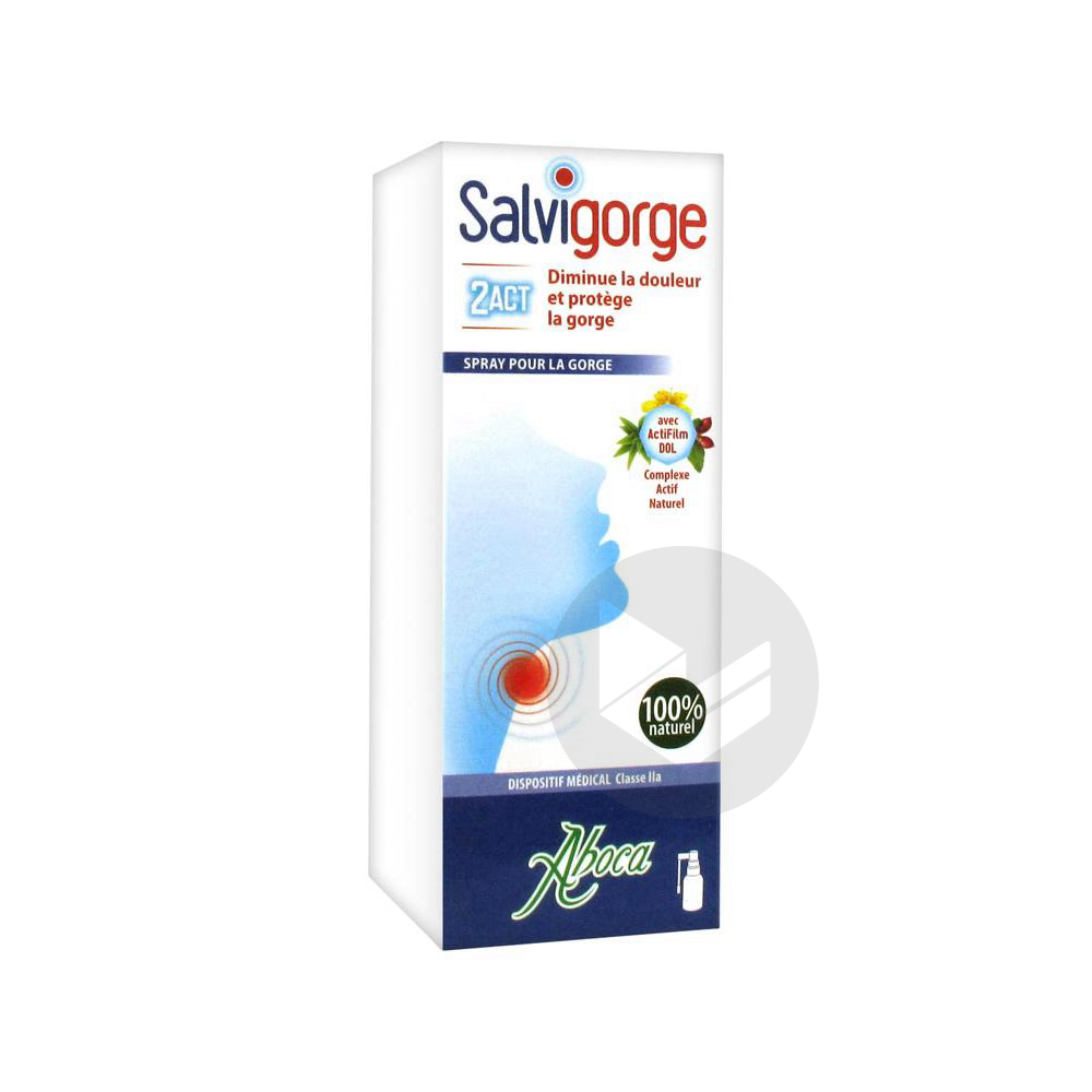 Salvigorge 2 Act Spray 30 Ml