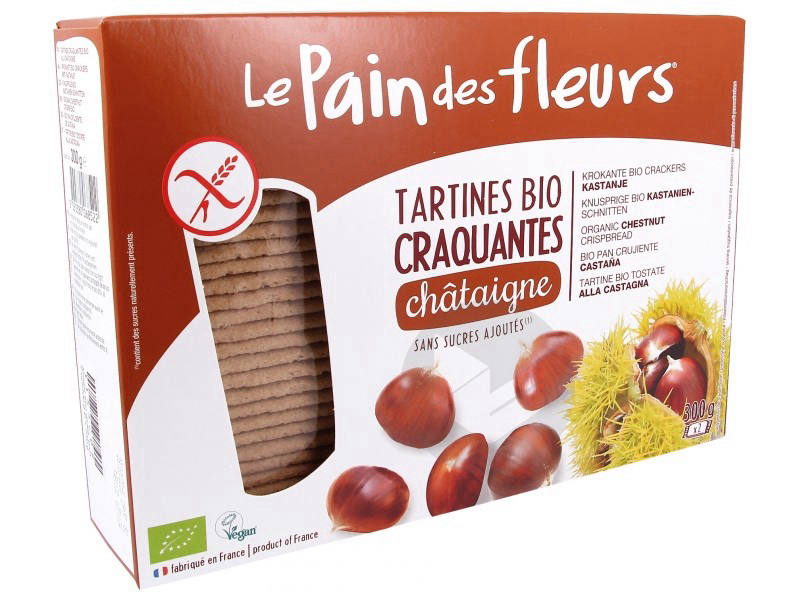 Tartines craquantes châtaigne Bio - 300 g