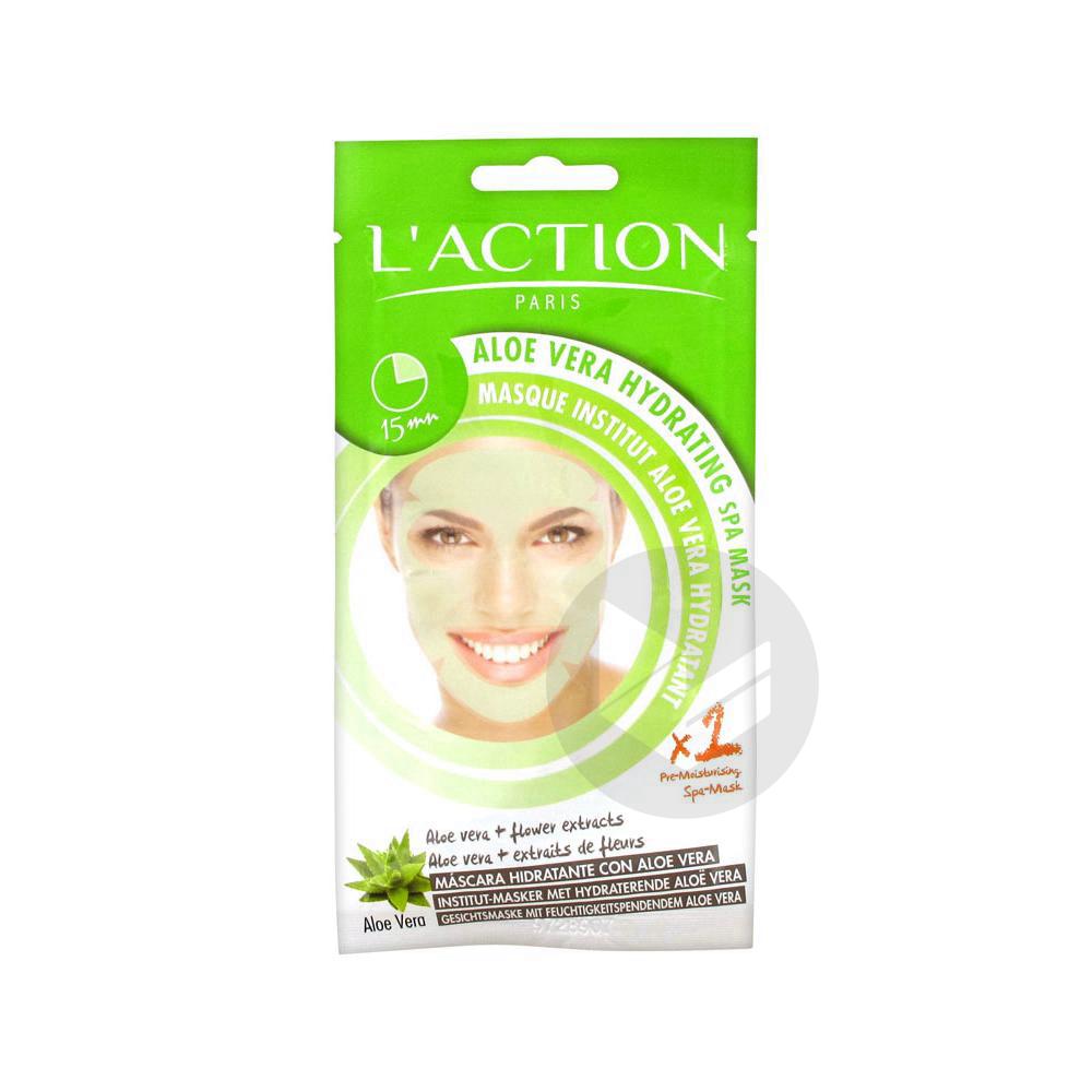 L Action Paris Masque Institut Aloe Vera Hydratant 1 Masque