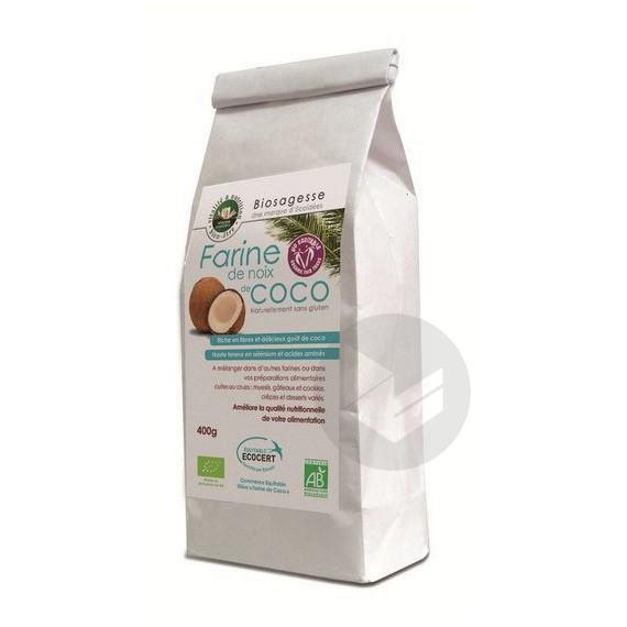 Farine de coco Bio - 400 g