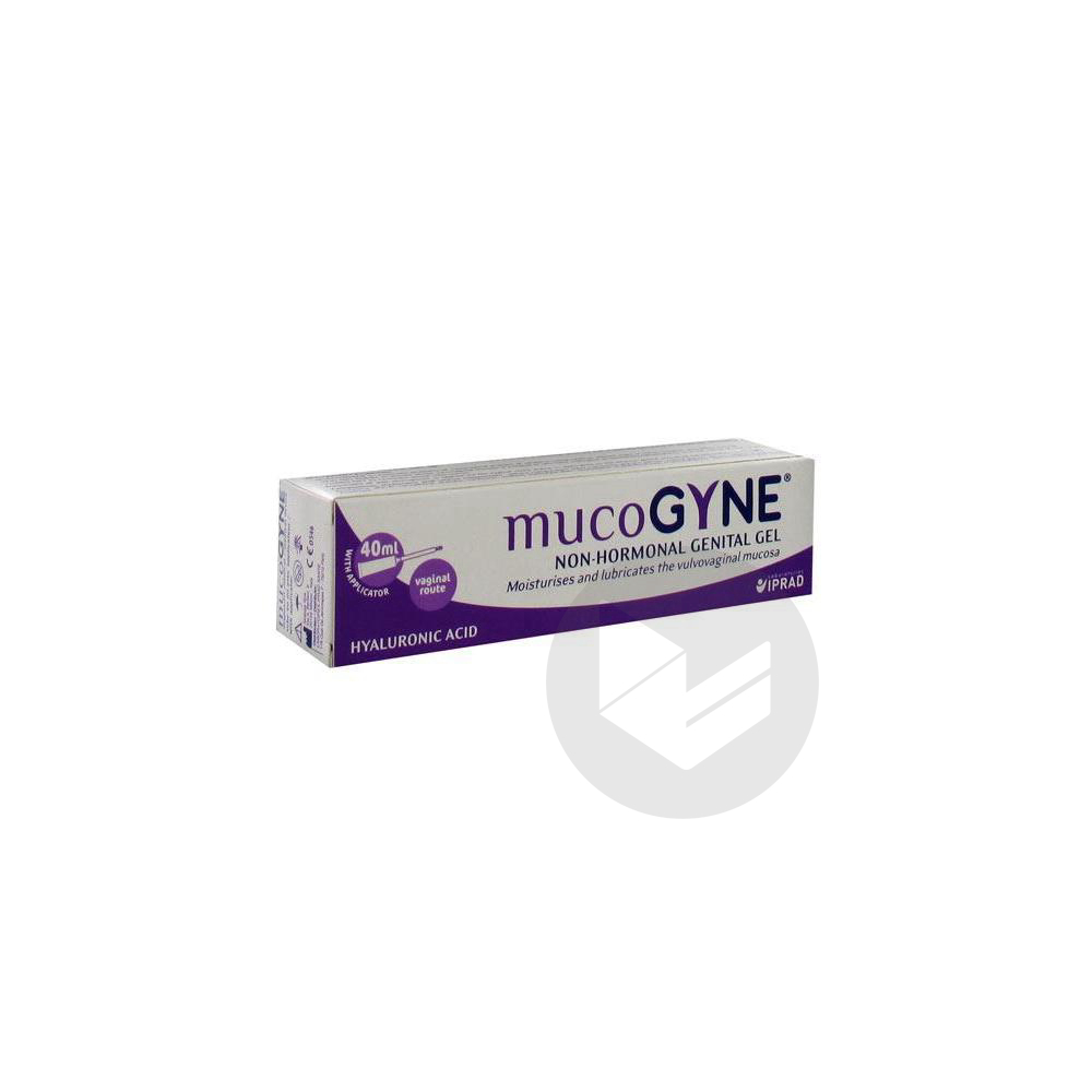 Mucogyne Gel Intime Non Hormonal A Lacide Hyaluronique Liposome T 40 Ml