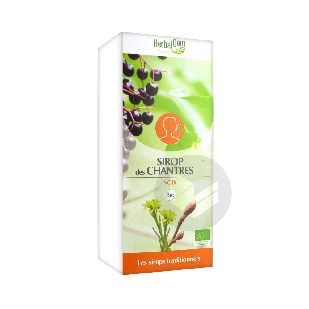Sirop Bio Des Chantres Fl 150 Ml