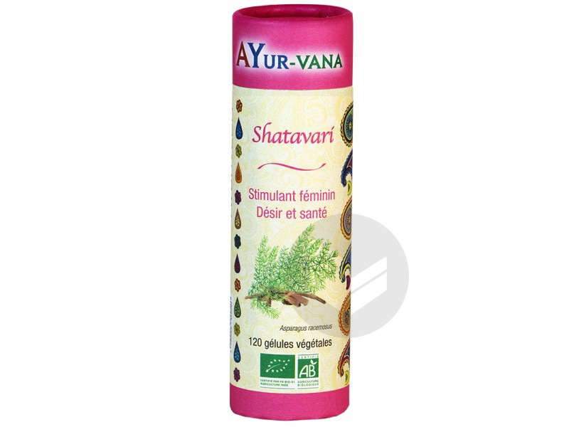 Shatavari Bio - 120 gélules