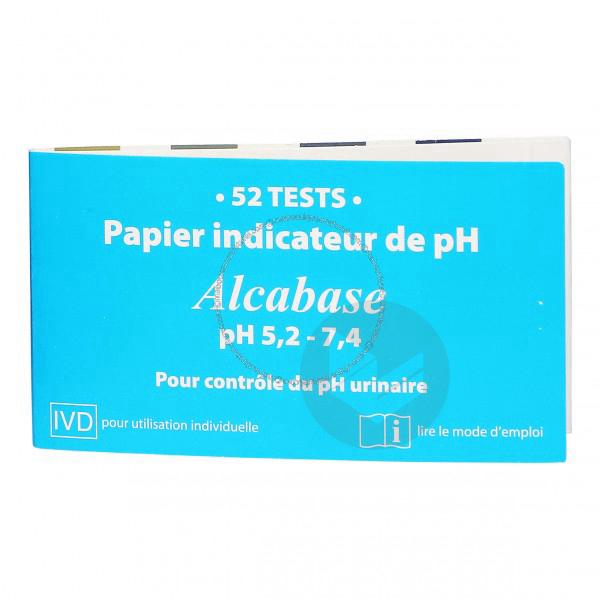 A Papier Indicateur P H 52 Bandelettes
