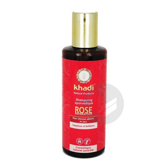 Shampooing Ayurvédique Rose - 210 ml '