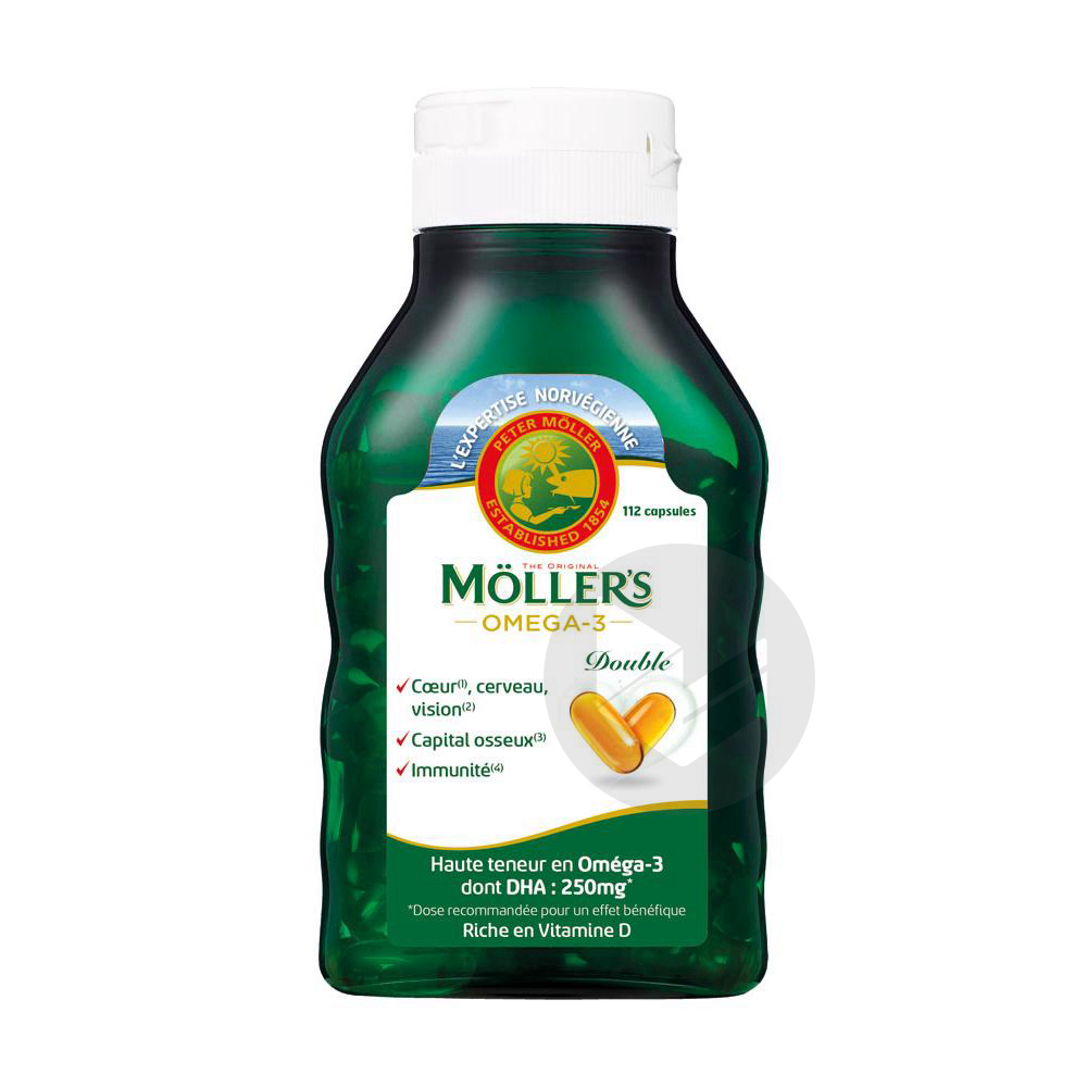 Mollers Omega 3 Double 112 Capsules