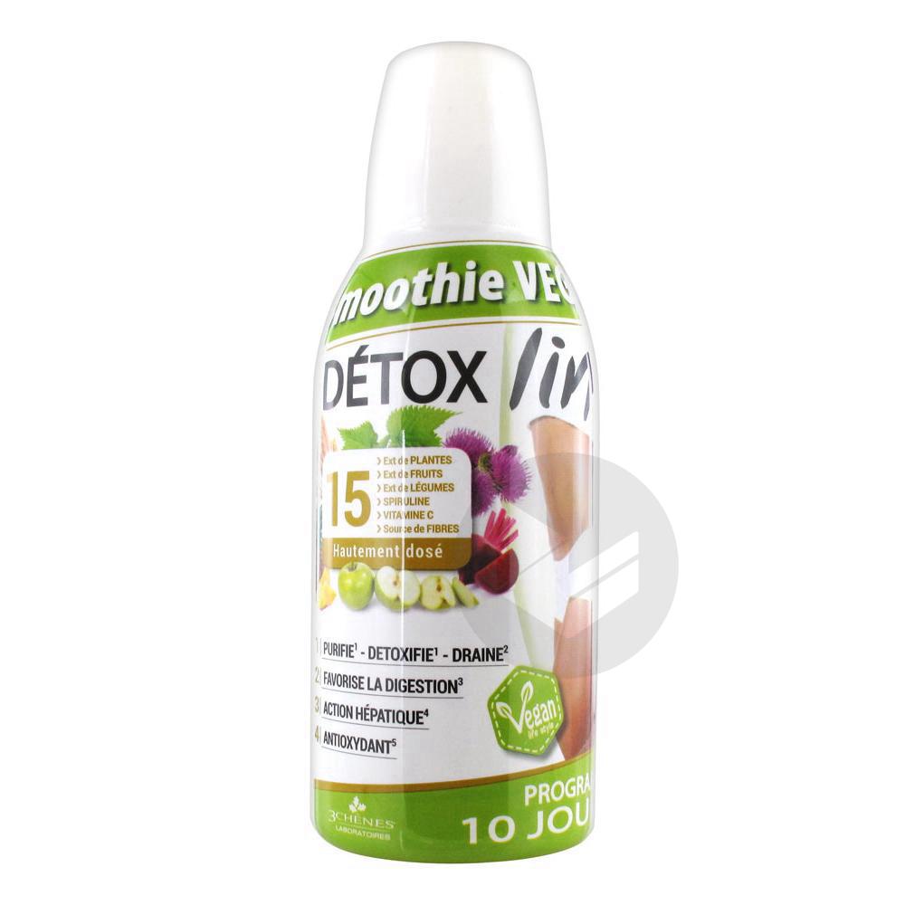 Detoxlim Smoothie Vegan Fl 500 Ml