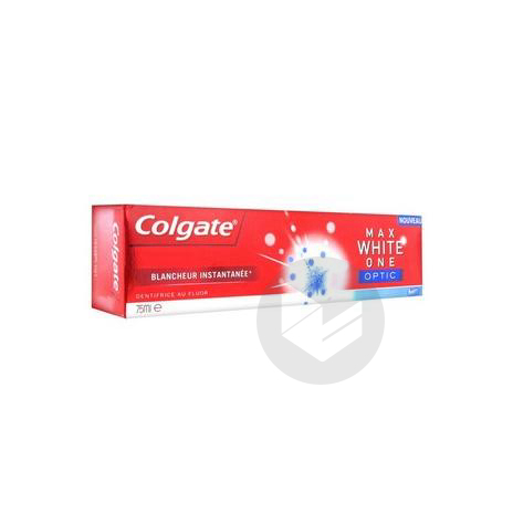 colgate max white one/one optic -20% aout 2020
